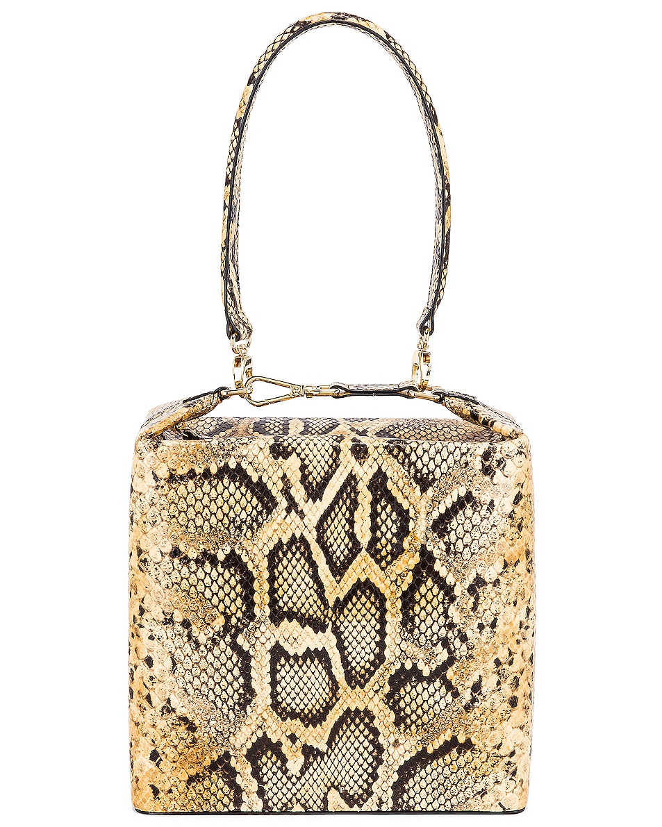 Image 1 of REJINA PYO Lucie Bag in Print Snake