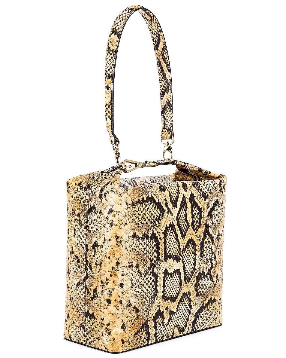 Image 4 of REJINA PYO Lucie Bag in Print Snake