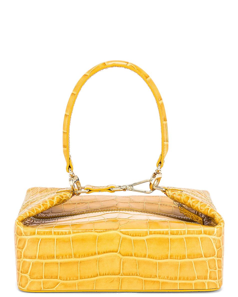 Image 3 of REJINA PYO Olivia Bag in Croc Yellow