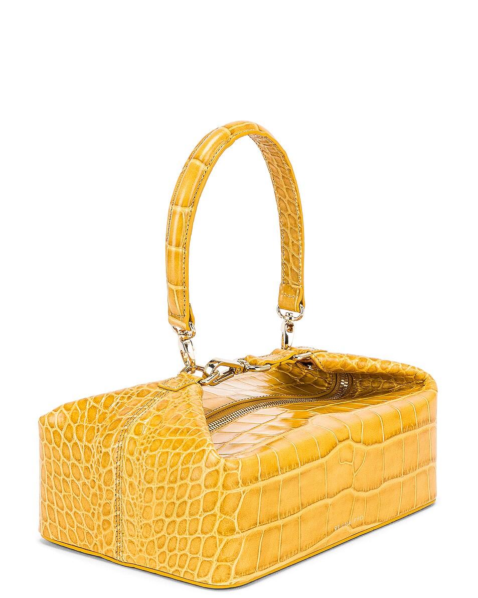 Image 4 of REJINA PYO Olivia Bag in Croc Yellow