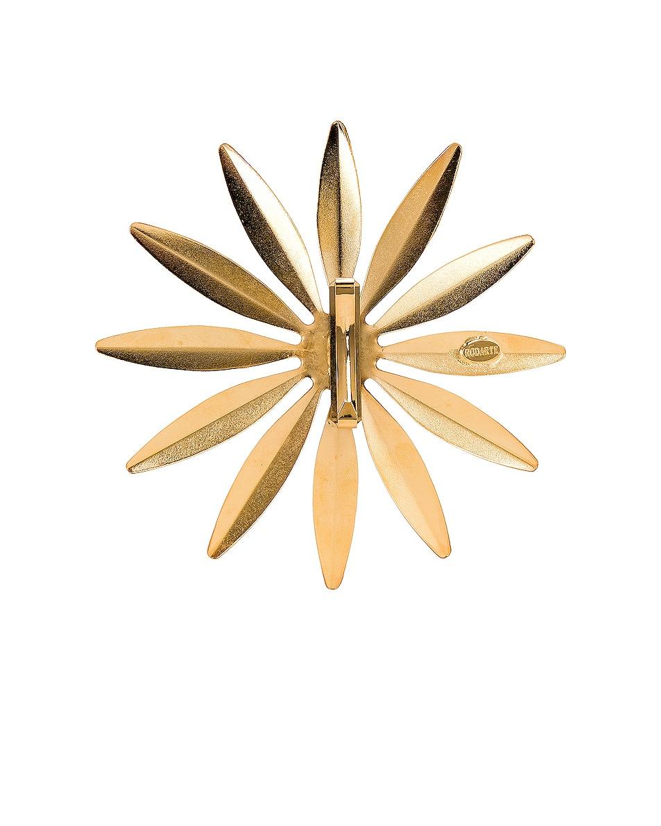 Image 3 of Rodarte Daisy Barrette in Gold
