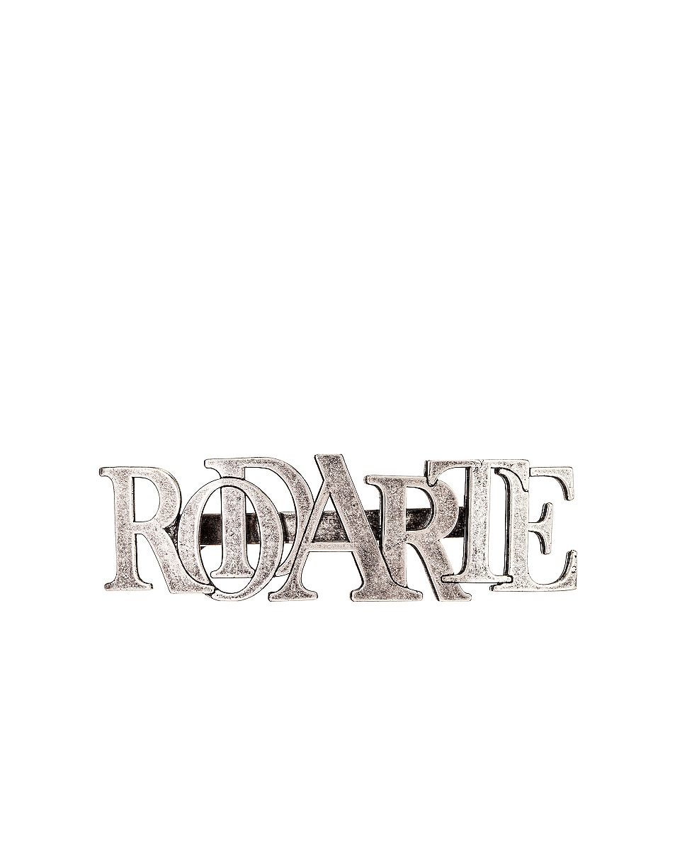 Image 1 of Rodarte Small Hair Clip in Silver