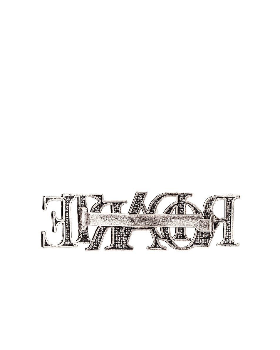 Image 3 of Rodarte Small Hair Clip in Silver