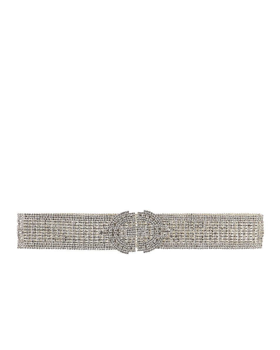 Image 1 of RAISA&VANESSA Crystal Belt in Silver