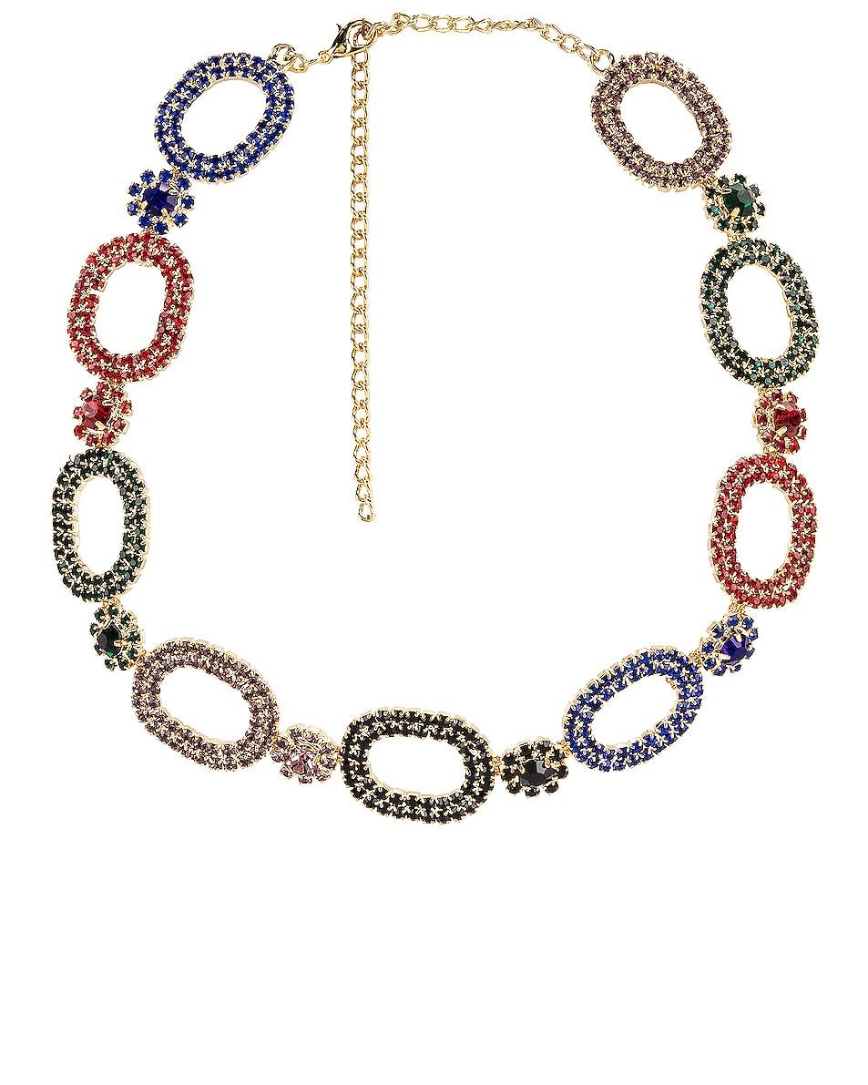 Image 1 of RAISA&VANESSA Chain Choker in Multi & Gold