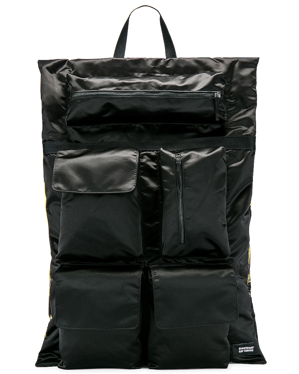 Image 1 of Raf Simons Eastpak Poster Backpack in Black