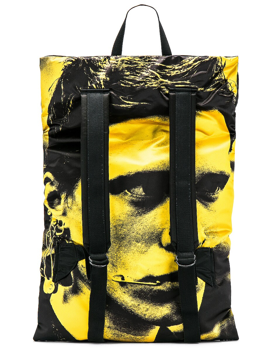 Image 4 of Raf Simons Eastpak Poster Backpack in Black
