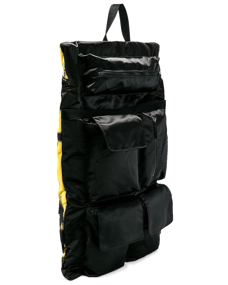 Image 5 of Raf Simons Eastpak Poster Backpack in Black