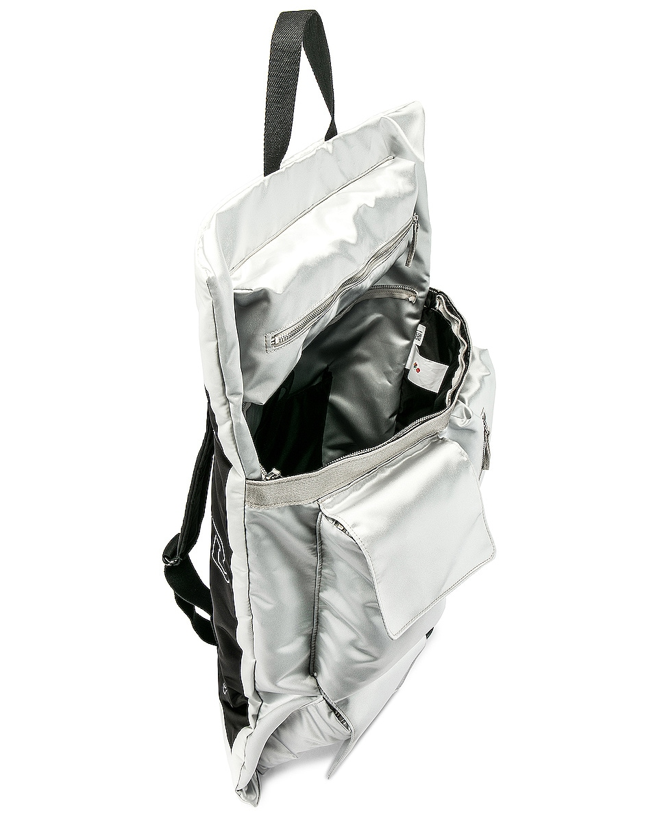 Raf Simons Eastpak Poster Backpack Silver delicate