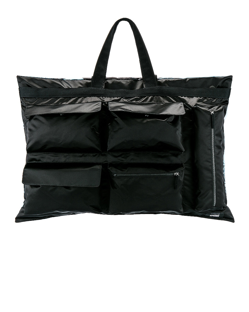 Image 1 of Raf Simons Eastpak Poster Tote in Black