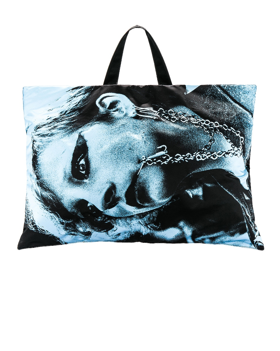 Image 3 of Raf Simons Eastpak Poster Tote in Black
