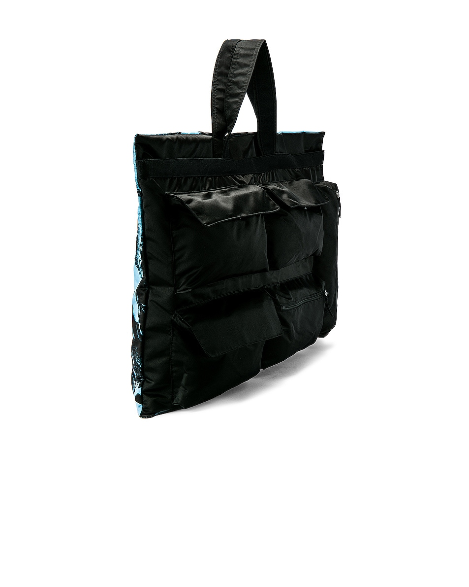 Image 4 of Raf Simons Eastpak Poster Tote in Black