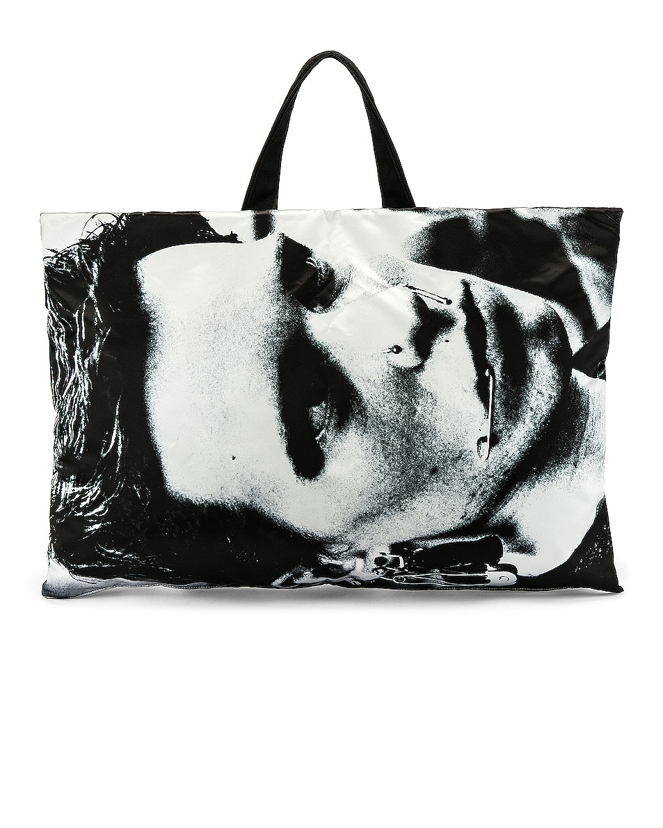 Image 3 of Raf Simons Eastpak Poster Tote in Silver