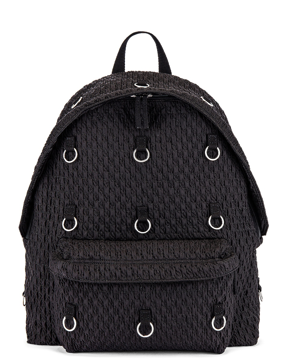 Image 1 of Raf Simons Padded Loop Backpack in Black