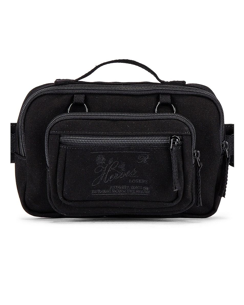 Image 1 of Raf Simons Loop Waistbag in Black