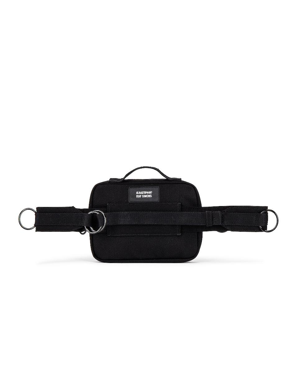 Image 2 of Raf Simons Loop Waistbag in Black