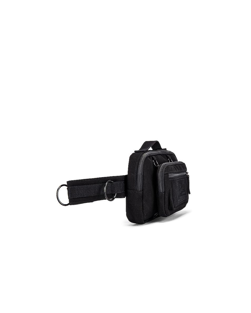 Image 3 of Raf Simons Loop Waistbag in Black