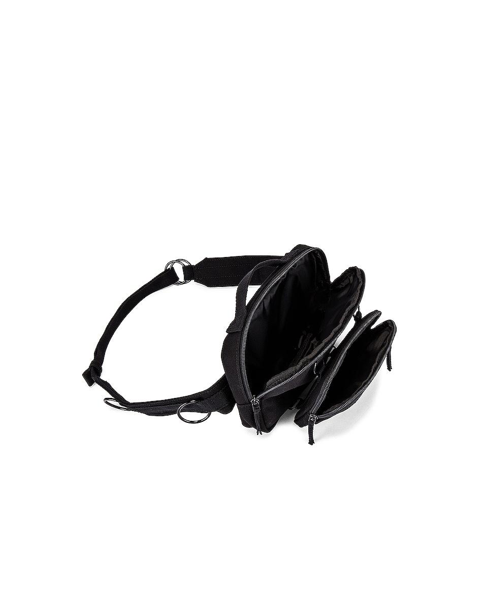 Image 4 of Raf Simons Loop Waistbag in Black