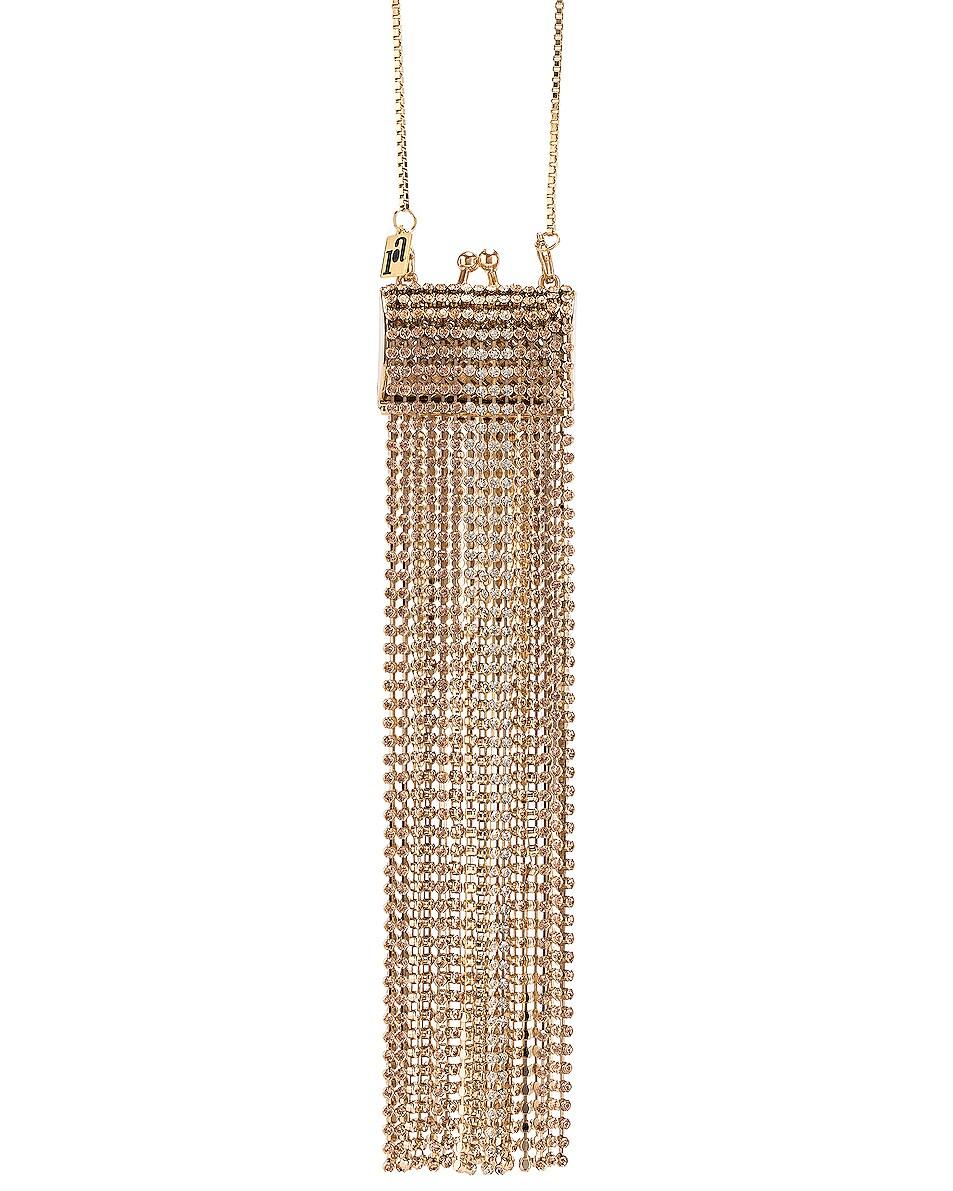Image 1 of Rosantica Orfea Bag in Gold & Multicolor Crystals