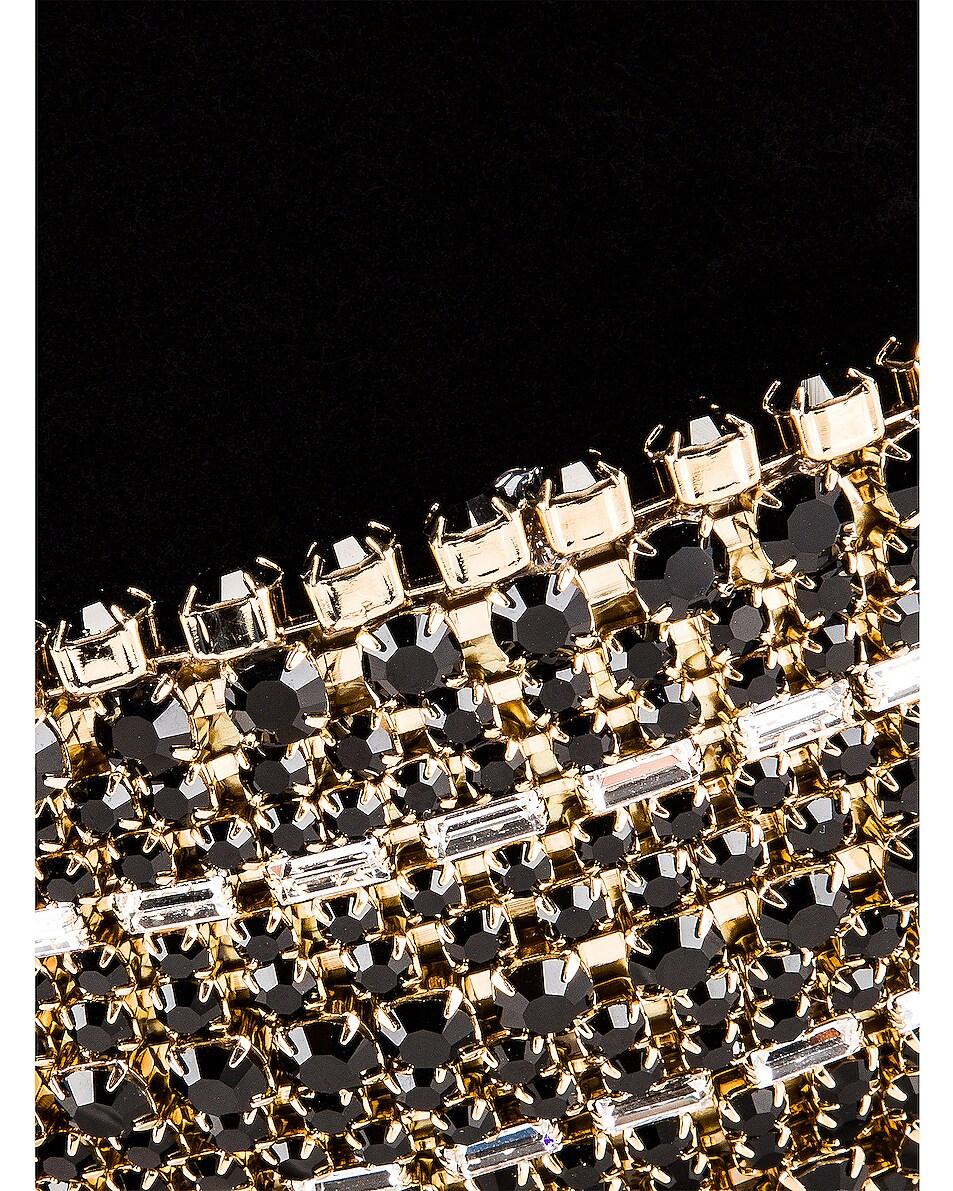 Image 7 of Rosantica Ghizlan Bag in Black Velvet & Crystals