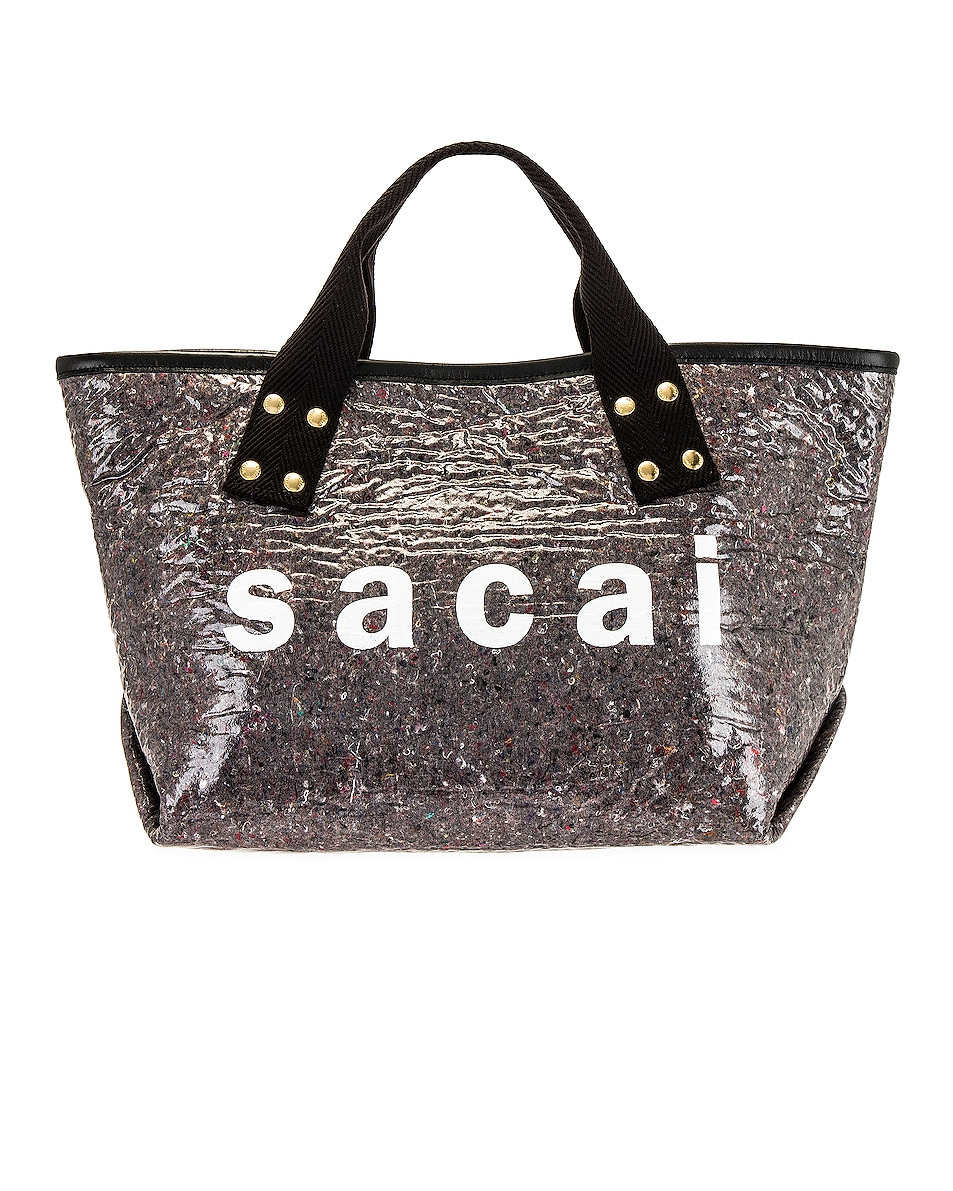 Image 1 of Sacai Soundproof Medium Tote in Gray
