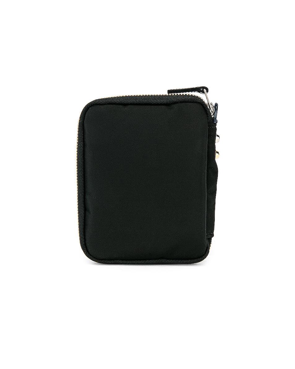 Image 2 of Sacai Nylon Medium Wallet in Black