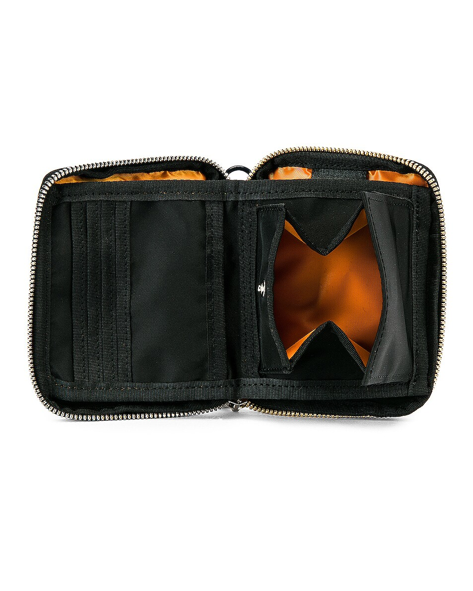 Image 4 of Sacai Nylon Medium Wallet in Black