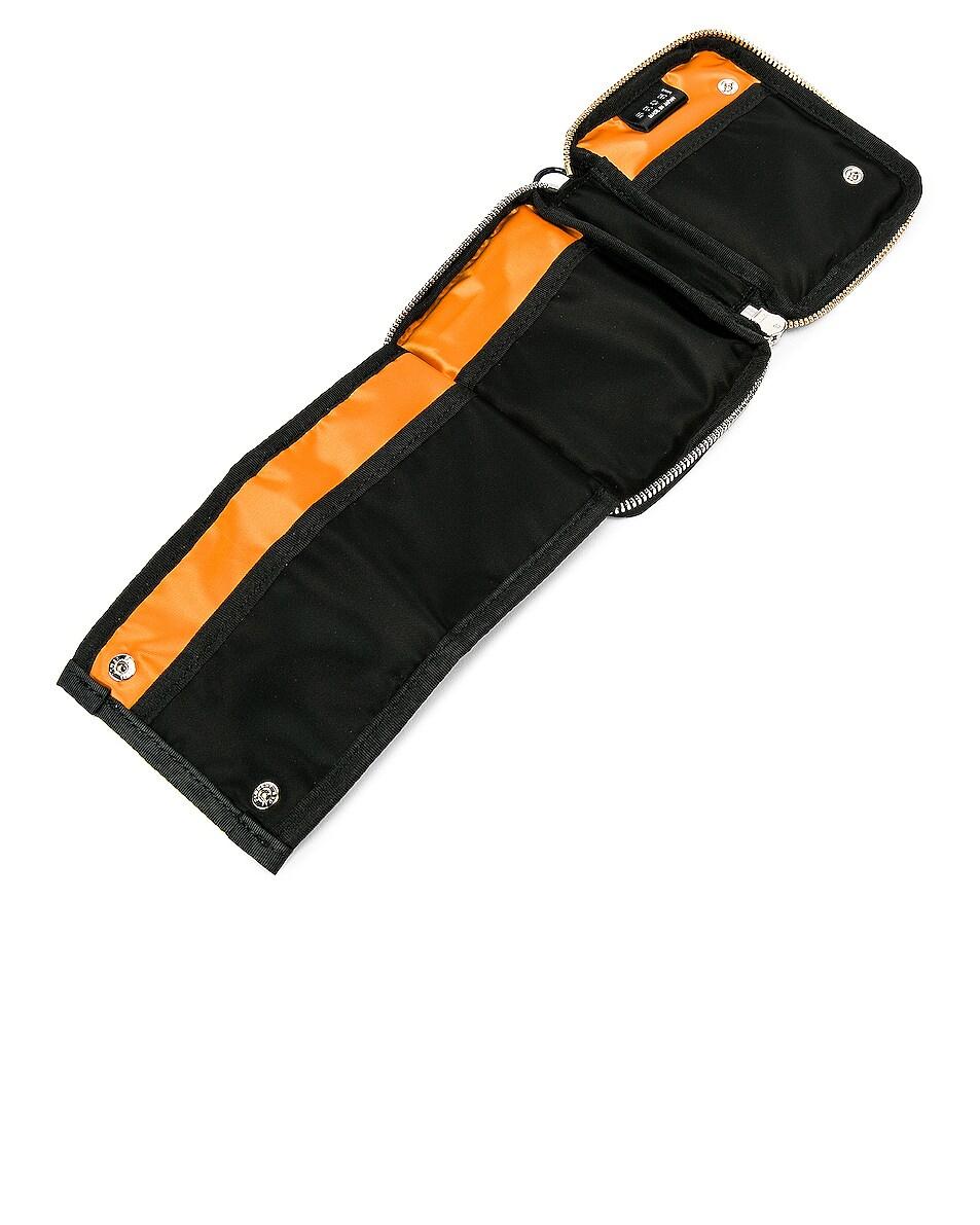 Image 6 of Sacai Nylon Medium Wallet in Black