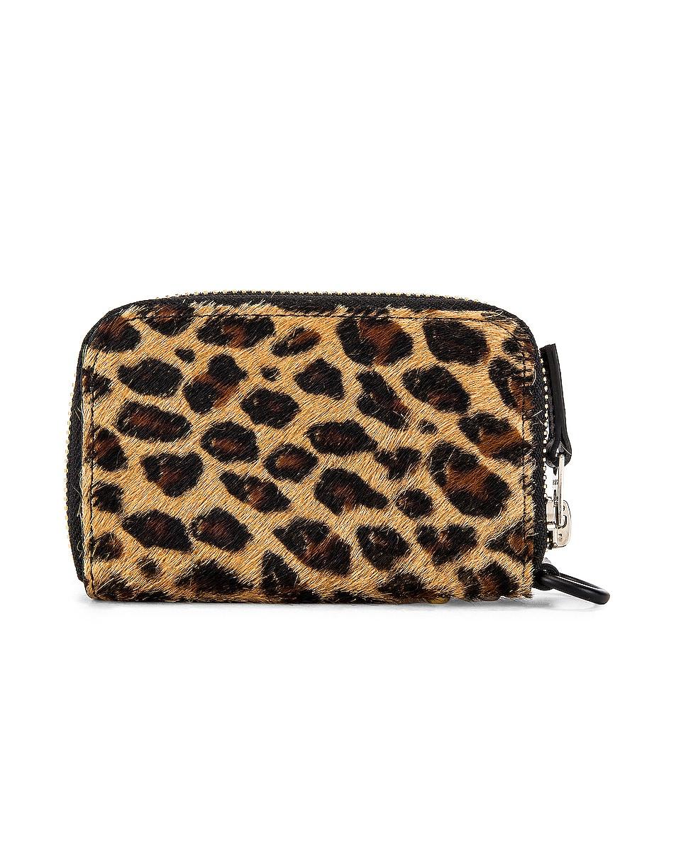 Image 2 of Sacai Leopard Wallet in Leopard