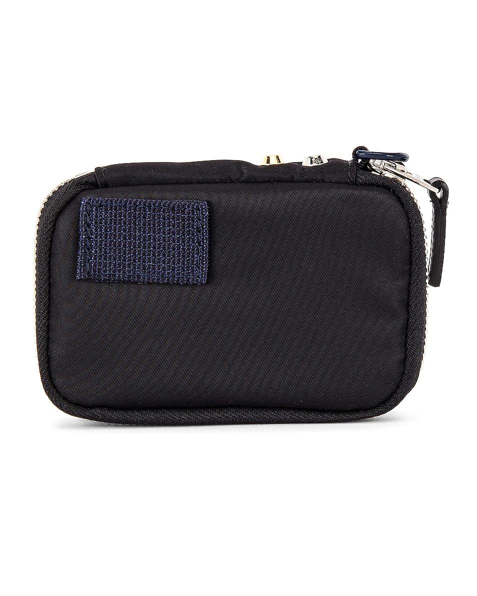 Image 2 of Sacai Nylon Wallet in Black