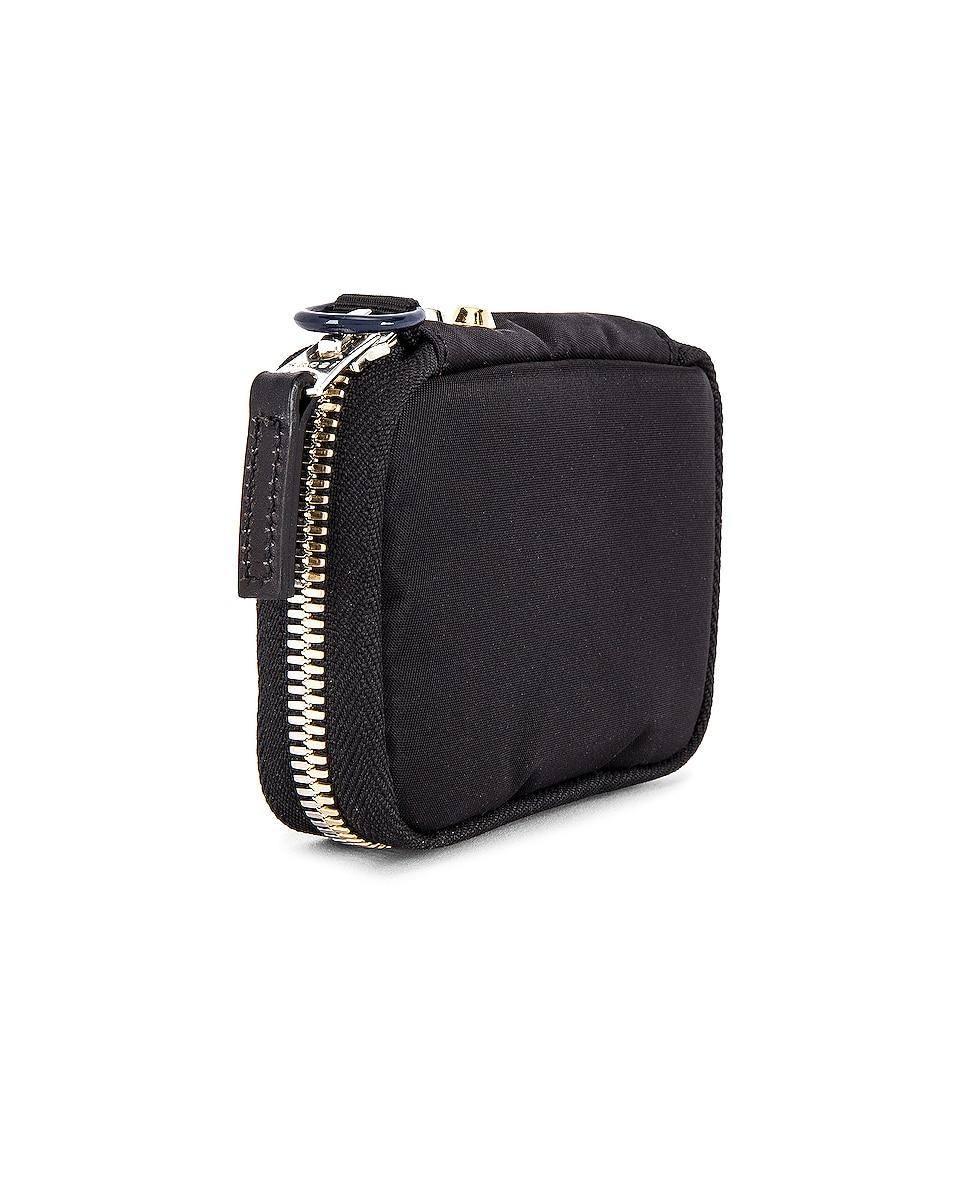 Image 3 of Sacai Nylon Wallet in Black