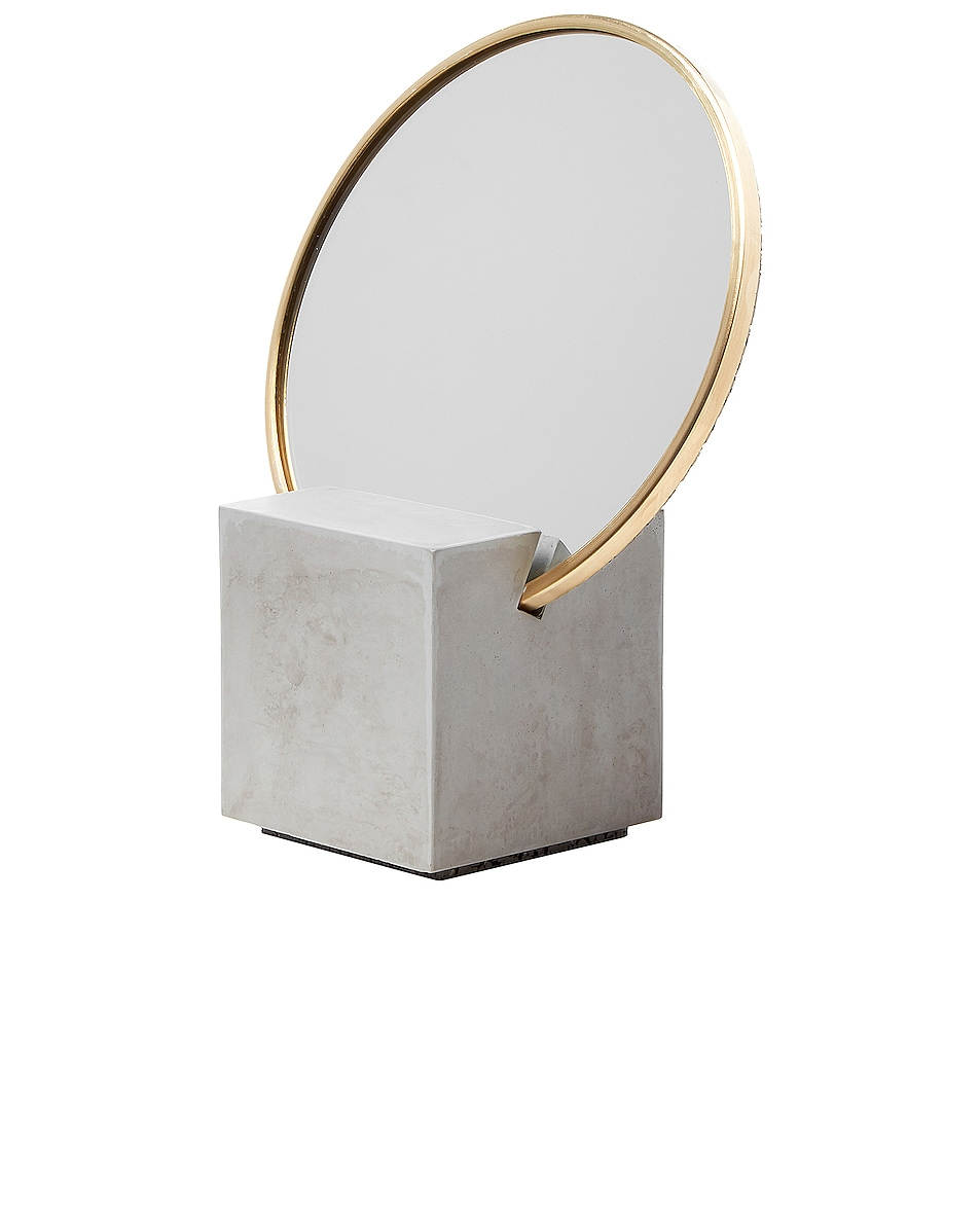 Image 1 of Slash Objects Slash Vanity Mirror in Gray & Gris
