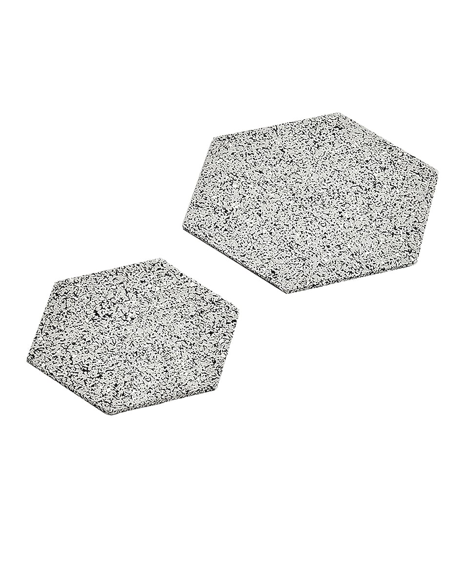 Image 1 of Slash Objects Hex Duo Trivets in Gris