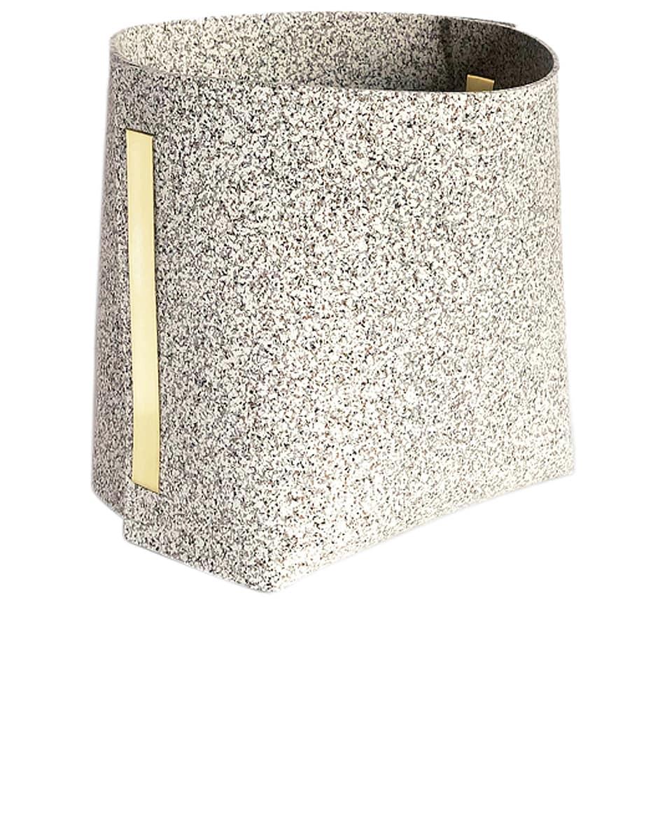 Image 1 of Slash Objects Rubber Bin in Sand