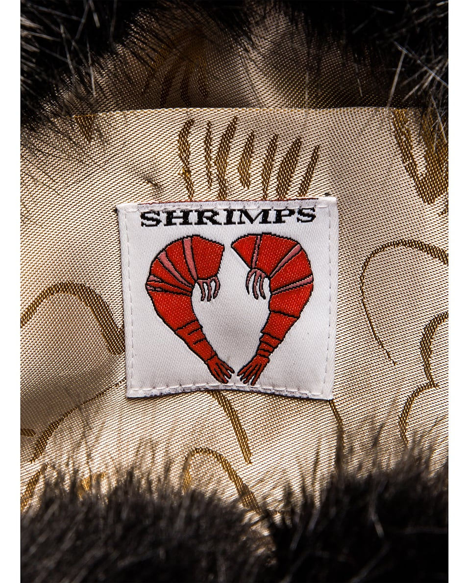 Image 6 of Shrimps Eva Faux Fur Bag in Black
