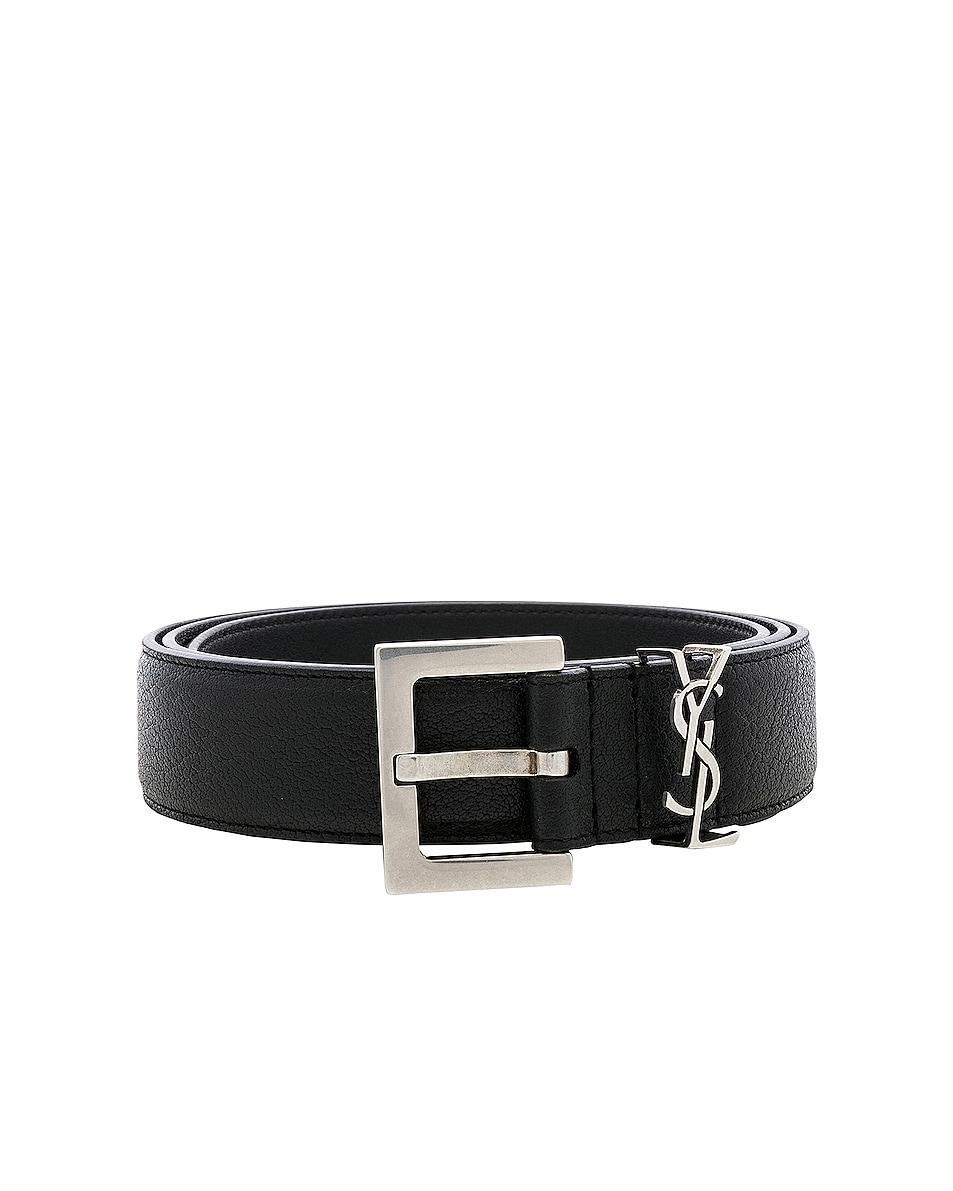 Image 1 of Saint Laurent Belt in Black