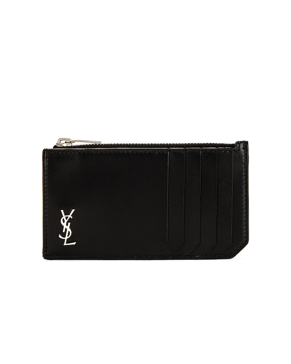 Image 1 of Saint Laurent Wallet in Black
