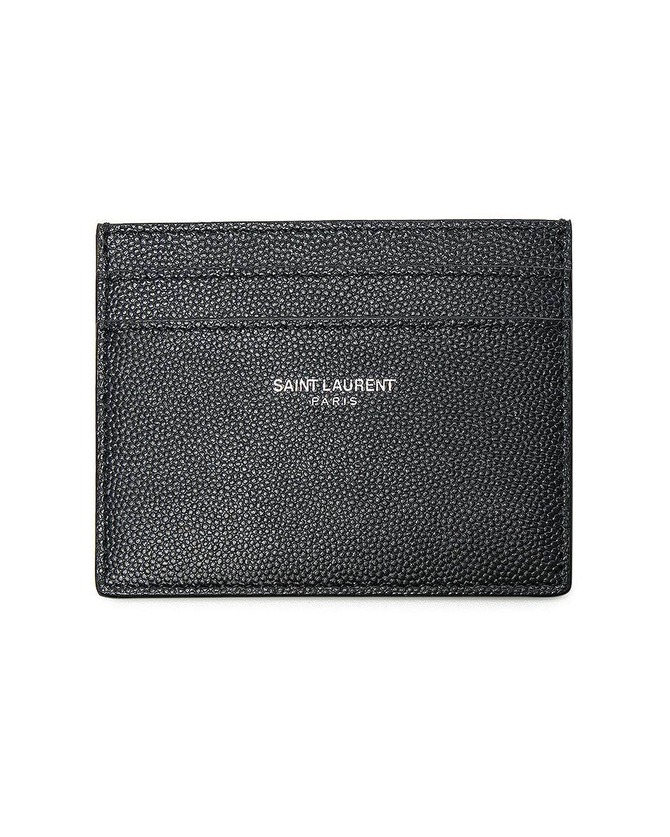 Image 1 of Saint Laurent Cardholder in Black