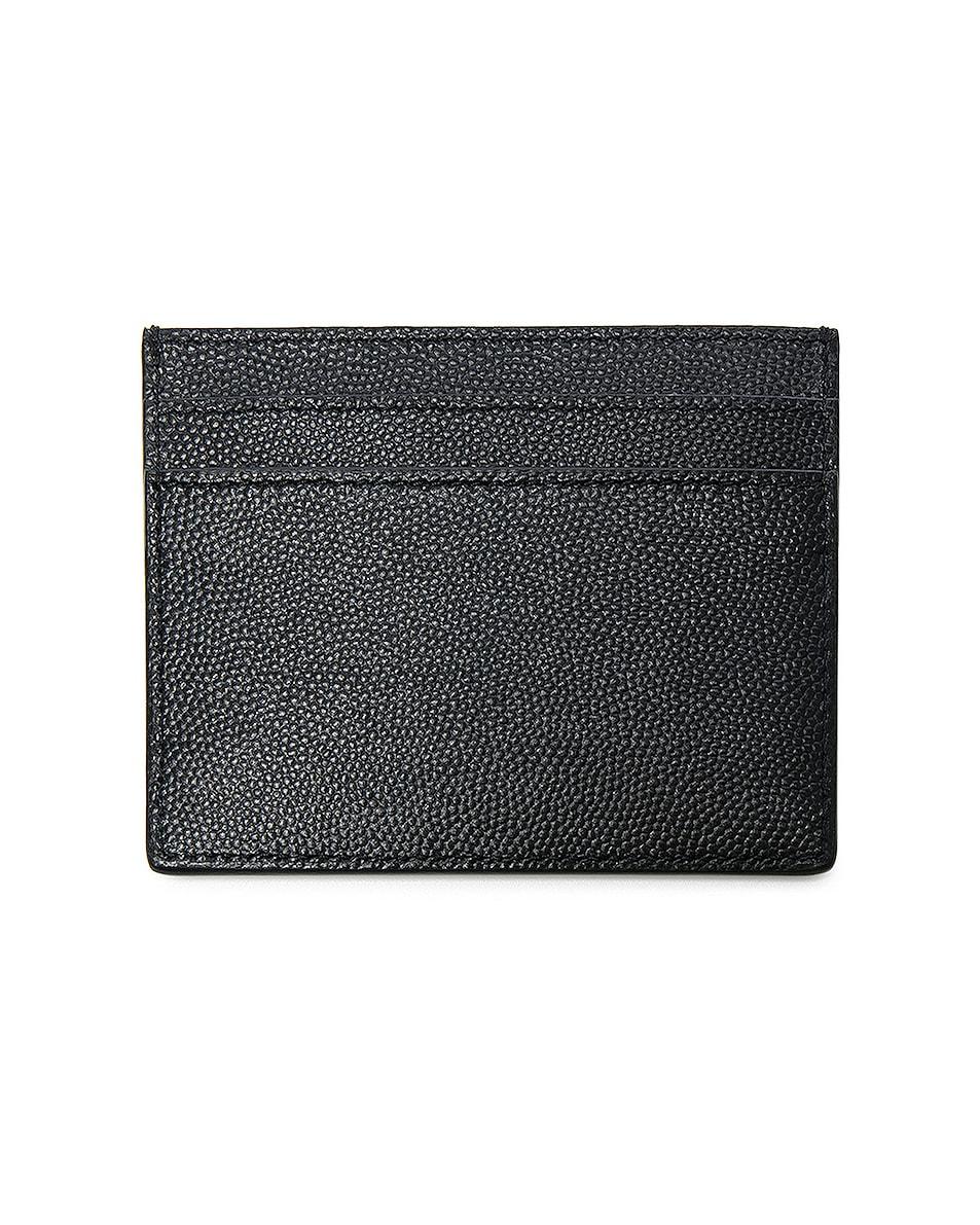 Image 2 of Saint Laurent Cardholder in Black