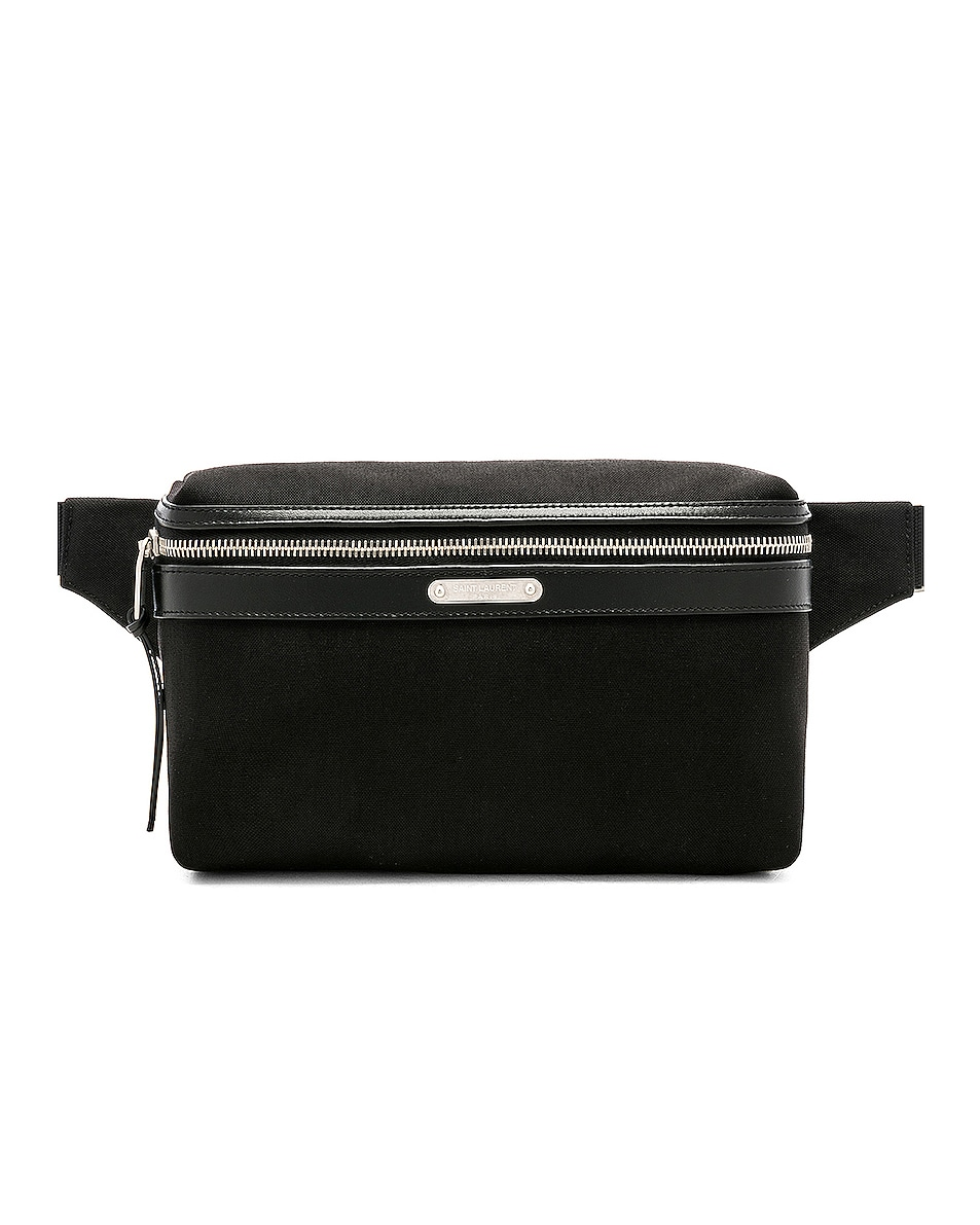 Image 1 of Saint Laurent Small Pouch in Black