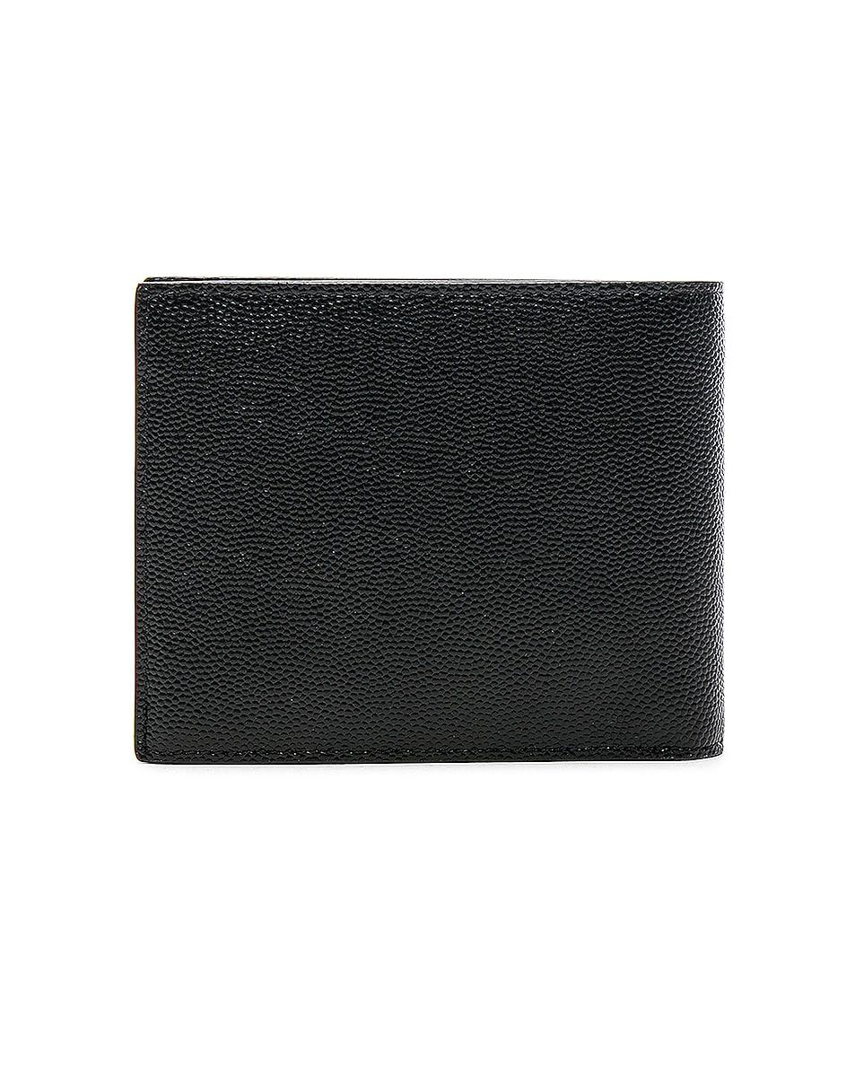 Image 2 of Saint Laurent Billfold Wallet in Black