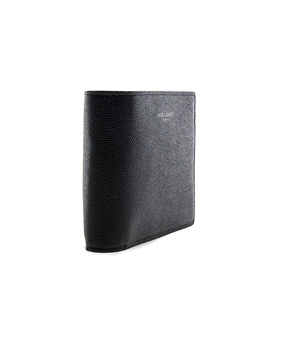 Image 3 of Saint Laurent Billfold Wallet in Black