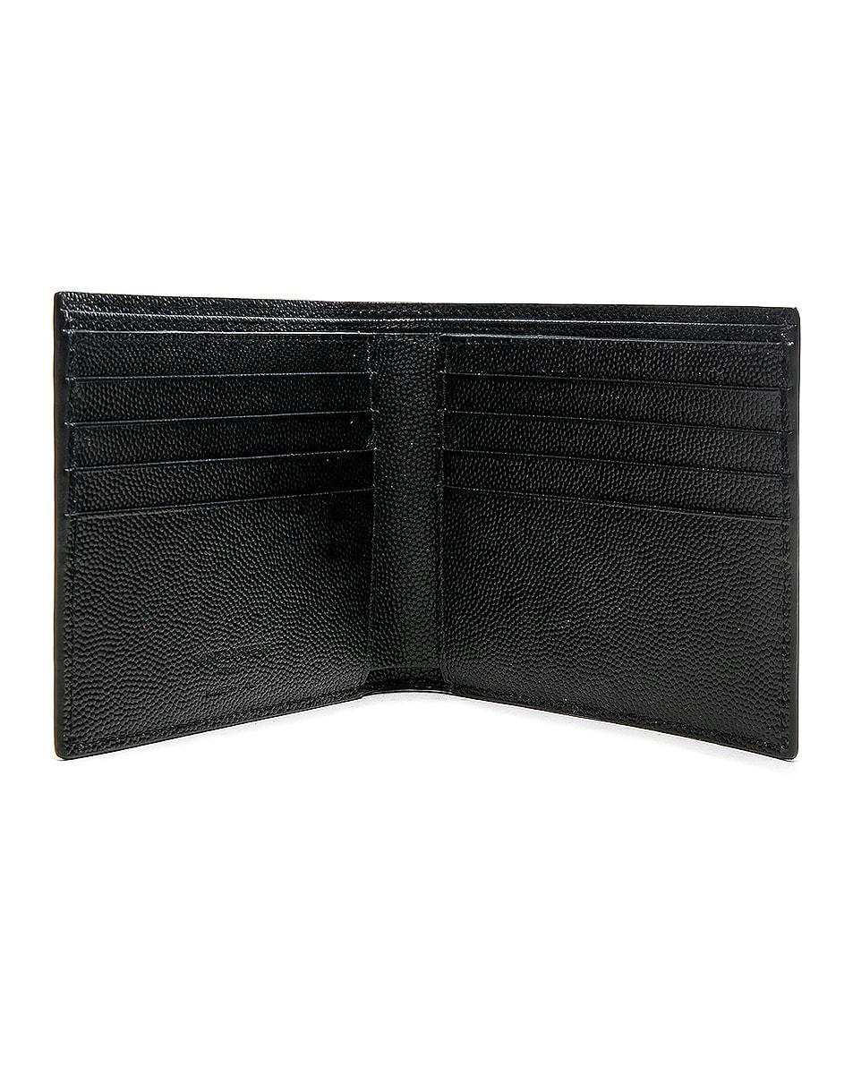 Image 4 of Saint Laurent Billfold Wallet in Black