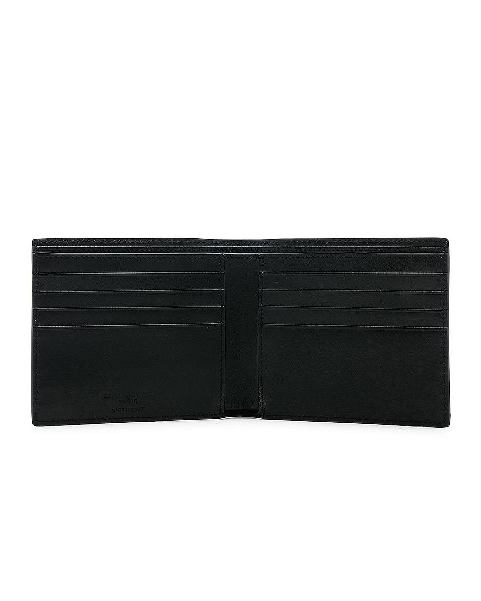 Image 4 of Saint Laurent Wallet in Black