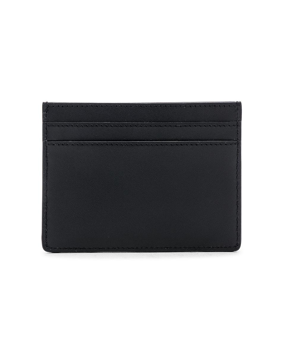 Image 2 of Saint Laurent Card Holder in Black