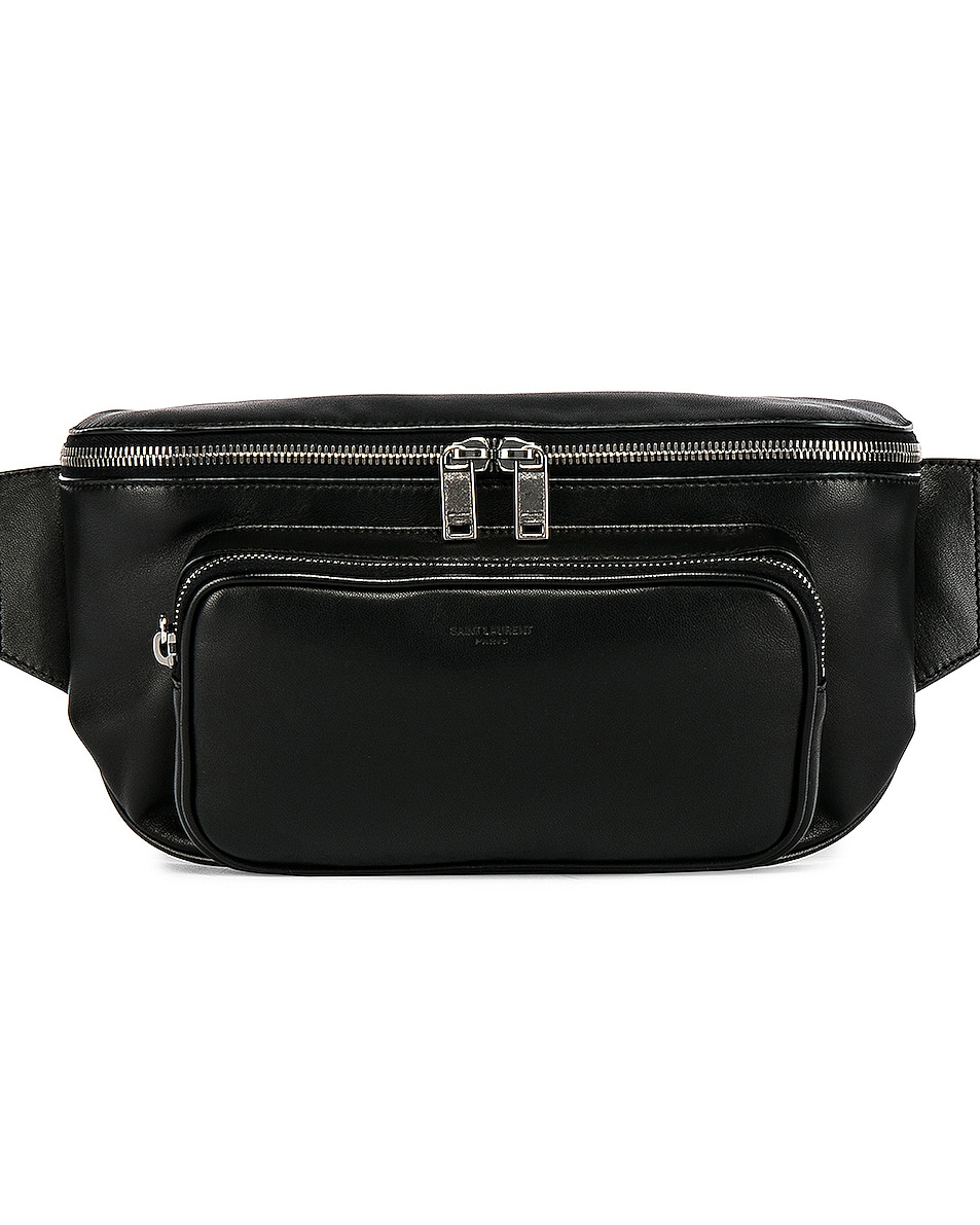 Image 1 of Saint Laurent Pouch in Black