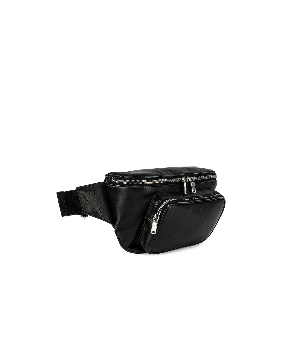 Image 4 of Saint Laurent Pouch in Black