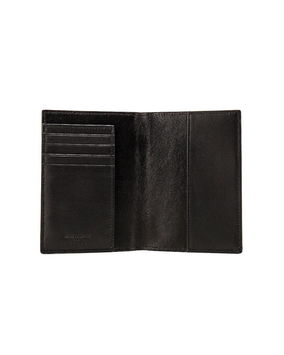 Image 4 of Saint Laurent Card Slots Passport Case in Black