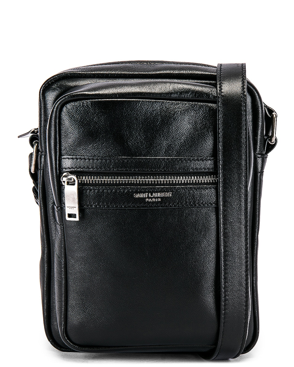 Image 1 of Saint Laurent Crossbody Pouch in Black