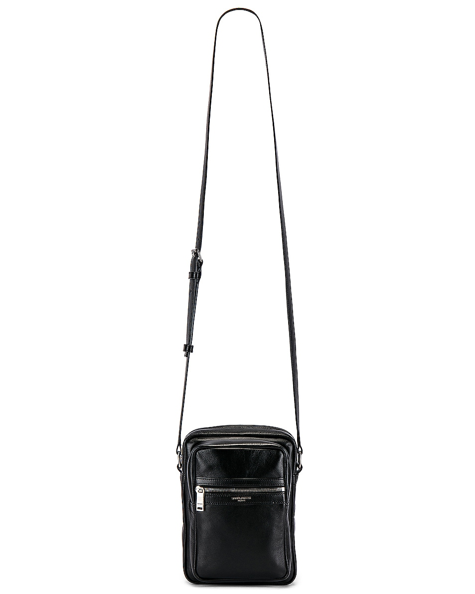 Image 5 of Saint Laurent Crossbody Pouch in Black
